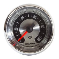 """AutoMeter Products 1219 2-1/16"""" Oil Pressure 0-100 psi Mech, American Muscle"""