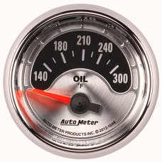 AutoMeter Products 1248 GAUGE; OIL TEMP; 2 1/16in.; 300deg.F; ELEC; AMERICAN MUSCLE