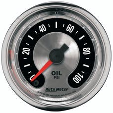 AutoMeter Products 1253 GAUGE; OIL PRESS; 2 1/16in.; 100PSI; DIGITAL STEPPER MOTOR; AMERICAN MUSCLE