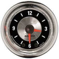 "AutoMeter Products 1284 2"" Clock, Illuminated, Analog"