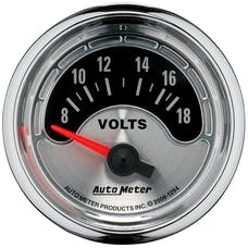 AutoMeter Products 1294 GAUGE; VOLTMETER; 2 1/16in.; 18V; ELEC; AMERICAN MUSCLE