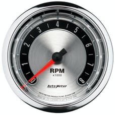 AutoMeter Products 1298 American Muscle Series In-Dash Tachometer (0-8,000 RPM, 3-3/8 in.)
