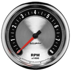 "AutoMeter Products 1299 5"" Tach, 10,000 RPM, In-Dash, American  Muscle"