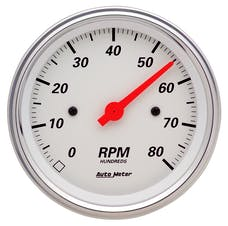 AutoMeter Products 1390 Tach  Artic White