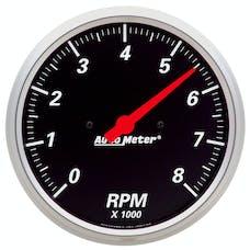 AutoMeter Products 1499 Gauge; Tachometer; 5in.; 8k RPM; In-Dash; Designer Black