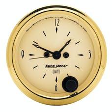 AutoMeter Products 1586 Clock  12 Volt
