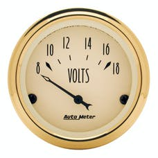 AutoMeter Products 1592 Voltmeter Gauge 8-18 Volts