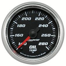 "AutoMeter Products 19640 Oil Temperature Gauge, Black  2 1/16"", 140-280Γö¼ΓòæF Digital Stepper Motor"