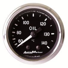 AutoMeter Products 201008 Gauge; Oil Temp; 2 1/16in.; 60-140deg.C; Mechanical; Cobra