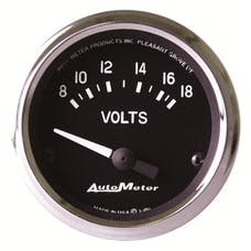 AutoMeter Products 201009 2-1/16in Voltmeter 8-18 Volts  427 Series