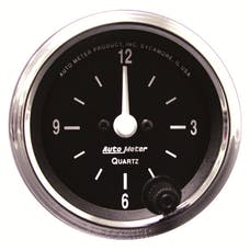 AutoMeter Products 201019 2-1/16in Clock  12 Volts  427 Series