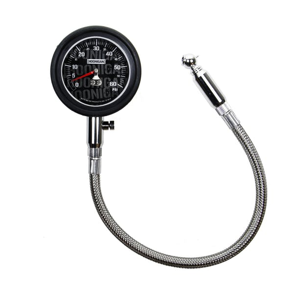 AutoMeter Products 2160-09000 Hoonigan Gauge, Tire Pressure, 0-60psi, Analog