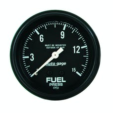 AutoMeter Products 2311 Fuel Press Gauge 0-15 PSI