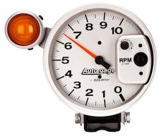AutoMeter Products 233911 Tach Shift Light  Silver 10 000 RPM