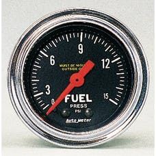 AutoMeter Products 2411 Fuel Pressure Gauge 0-15 PSI