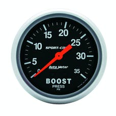 AutoMeter Products 3404 Boost  0-35 PSI