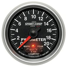 AutoMeter Products 3647 2-1/16in Pyrometer Kit, 0-2000F, FSE