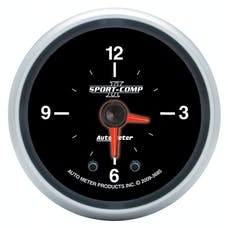 "AutoMeter Products 3685 2-1/16"" Clock, Sport Comp II"
