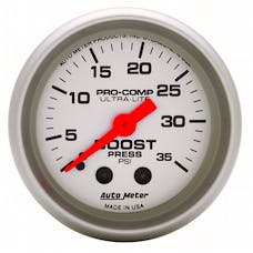AutoMeter Products 4304 Boost  0-35 PSI