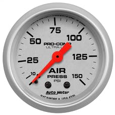 AutoMeter Products 4320 Air Pressure  0-150 PSI