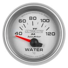 "AutoMeter Products 4937-M Water Temperature Gauge 2 1/16"", 40-120Γö¼ΓòæC, Electric, Ultra-Lite II"