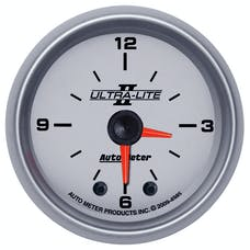 AutoMeter Products 4985 Gauge; Clock; 2 1/16in.; 12Hr; Analog; Ultra-Lite II