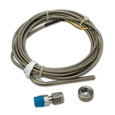 AutoMeter Products 5244 THERMOCOUPLE KIT; TYPE K; 3/16in. DIA; OPEN TIP; 10FT; INCL. STAINLESS COMP./WEL