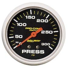 AutoMeter Products 5423 Pressure Gauge  0-300 PSI