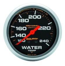 AutoMeter Products 5433 Water Temp  120-240 F