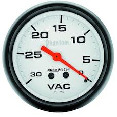 AutoMeter Products 5884 GAUGE; VACUUM; 2 5/8in.; 30INHG; MECHANICAL; PHANTOM