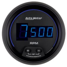 AutoMeter Products 6997 3-3/8in Tach In-Dash  Digital Black