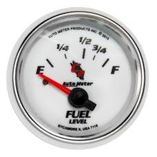 "AutoMeter Products 7118 Fuel Level Gauge 2 1/16""  Electric C2 16E - 158F"