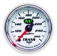 AutoMeter Products 7357 GAUGE; TRANSMISSION TEMP; 2 1/16in.; 100-260deg.F; DIGITAL STEPPER MOTOR; NV