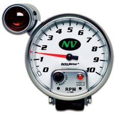 AutoMeter Products 7499 GAUGE; TACHOMETER; 5in.; 10K RPM; PEDESTAL W/EXT. SHIFT-LITE; NV