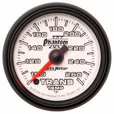 AutoMeter Products 7557 Gauge; Transmission Temp; 2 1/16in.; 100-260deg.F; Digital Stepper Motor; Phanto