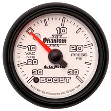 AutoMeter Products 7559 Boost/Vac 30In Hg/30 PSI  (FS)