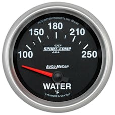 AutoMeter Products 7637 2-5/8in Water Temp, 100- 250F, SSE