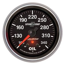 AutoMeter Products 7656 2-5/8in Oil Temp, 100- 340F, FSE