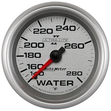 AutoMeter Products 7731 Sport-Comp II 2-5/8in Water Temp, 140- 280F, Mech