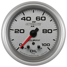 AutoMeter Products 7753 2-5/8in Oil Pressure, 0-100 PSI, FSE