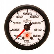 AutoMeter Products 7856 Gauge; Oil Temp; 2 1/16in.; 340deg.F; Stepper Motor w/Peak/Warn; Phantom II