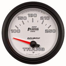 AutoMeter Products 7857 GAUGE; TRANSMISSION TEMP; 2 5/8in.; 100-250deg.F; ELECTRIC; PHANTOM II