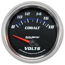 AutoMeter Products 7991 2-5/8in Voltmeter, 8-18V, SSE