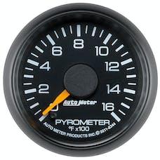 AutoMeter Products 8344 GAUGE; PYROMETER (EGT); 2 1/16in.; 1600deg.F; STEPPER MOTOR; GM FACTORY MATCH
