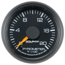 AutoMeter Products 8345 Gauge; Pyrometer (EGT); 2 1/16in.; 2000deg.F; Stepper Motor; GM Factory Match