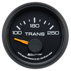 AutoMeter Products 8349 Gauge; Transmission Temp; 2 1/16in.; 100-250deg.F; Electric; GM Factory Match