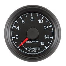 AutoMeter Products 8444 GAUGE; PYROMETER (EGT); 2 1/16in.; 1600deg.F; STEPPER MOTOR; FORD FACTORY MATCH