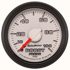 """AutoMeter Products 8506 2-1/16"""" Factory Match Boost 0-100 psi, Mechanical"""