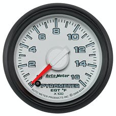 """AutoMeter Products 8544 2-1/16"""" Factory Match Pyrometer 0-1600"""