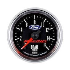 AutoMeter Products 880362 Gauge; Brake Press; 2 5/8in.; 1600psi; Digital Stepper Motor; Ford Racing